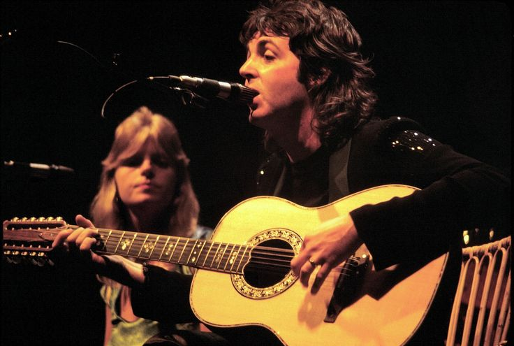 "1976 - ""Maybe I'm Amazed"" written by Paul McCartney and dedicated to his wife Linda, who had helped him get through the break-up of The Beatles,  was released as a single from a live performance of the song during his 1976 Wings American tour. The song became a top-ten hit in the United States."