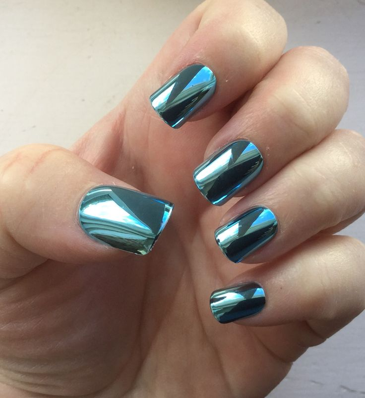 Best 25+ Chrome Mirror Nail Polish Ideas On Pinterest