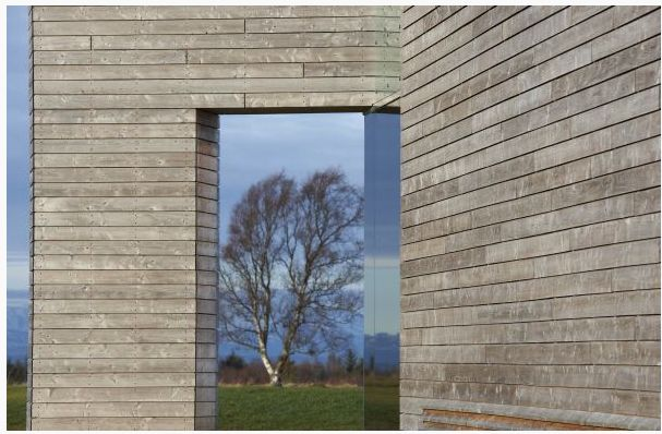 Russwood Scotlarch® at Culloden Battlefield visitor centre (Russwood.co.uk)