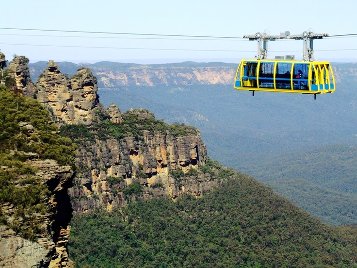 Scenic Skyway Blue Mountains National Park - right where I live at the moment!