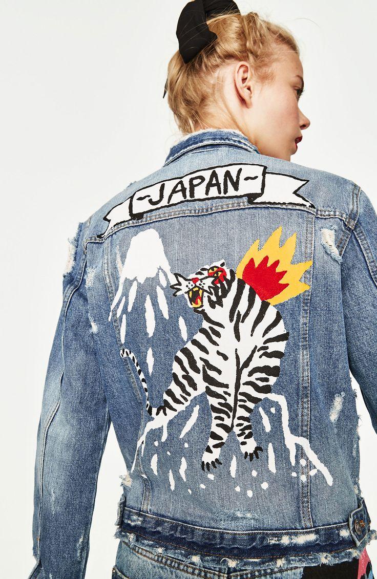 Japan denim jacket by Ricardo Cavolo