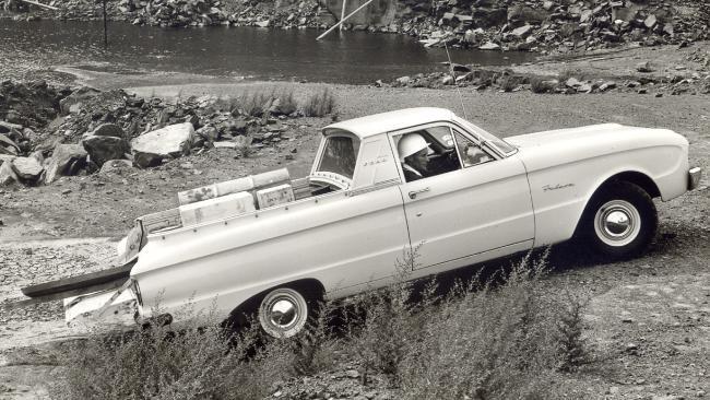 Xl Utility August 1962 Australian Cars Pickup Car Ford Falcon