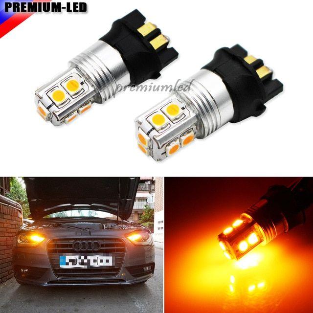 Fits VW Passat B6 Bright SMD Bulbs RED Premium Interior LED Kit