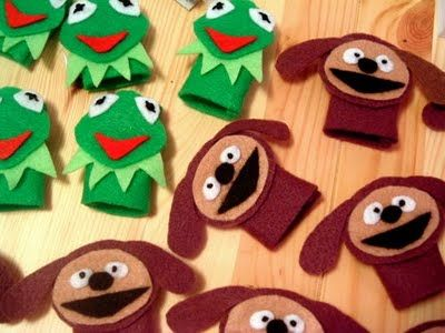 The Muppets Party Ideas & Free Printables. No Pattern for puppets.