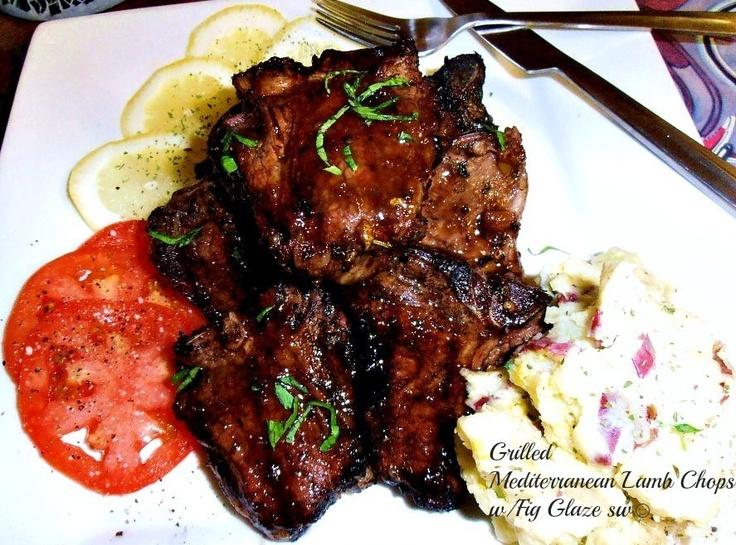 ... Lamb Chops w/ Fig Glaze | Recipe | Lamb Chops, Figs and Lamb