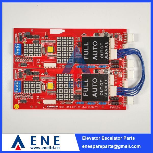 Hipd Can V1 0 Hyundai Elevator Indicator Display Pcb 262c201 Elevation Hyundai Display
