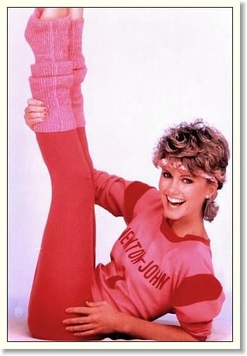 Olivia Newton-Johns Physical/ I used to get her and Diana mixed up. They looked alike, right?