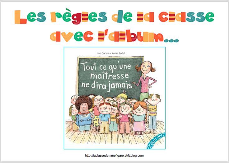 Jeu sur les règles de la classe - La classe de Mme Figaro
