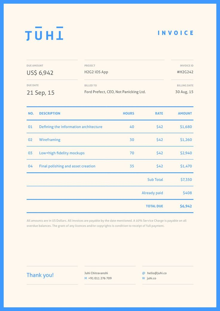 The 25+ best Invoice design ideas on Pinterest Invoice layout - invoice generator app