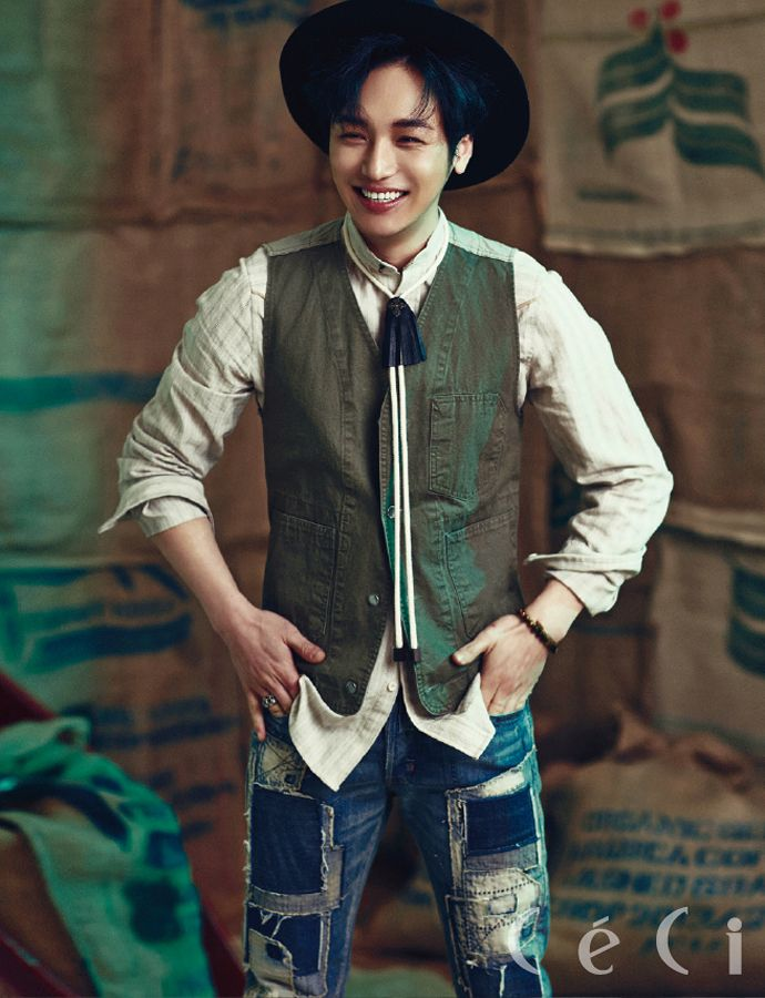 More Of Byun Yo Han & Shin For CéCi's April 2015 Issue | Couch Kimchi