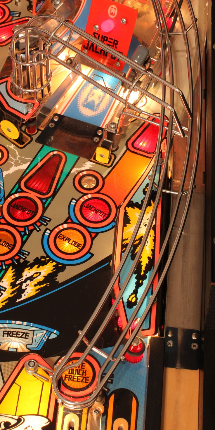 pinball machine - spent a lot of time playing this!