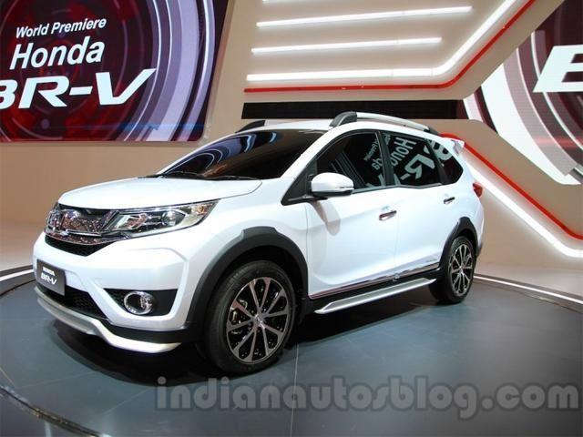 Engine - India-bound Honda BR-V showcased at Makassar Automotive Exhibition in Indonesia | The Economic Times