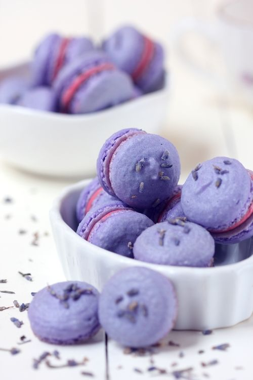 Purple #cookies #macarons
