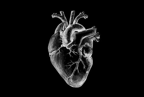Black Heart by Krisp_Krisp on @creativemarket