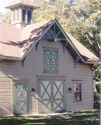 Folk Victorian - Carriage House. Good design for future detached garage/studio