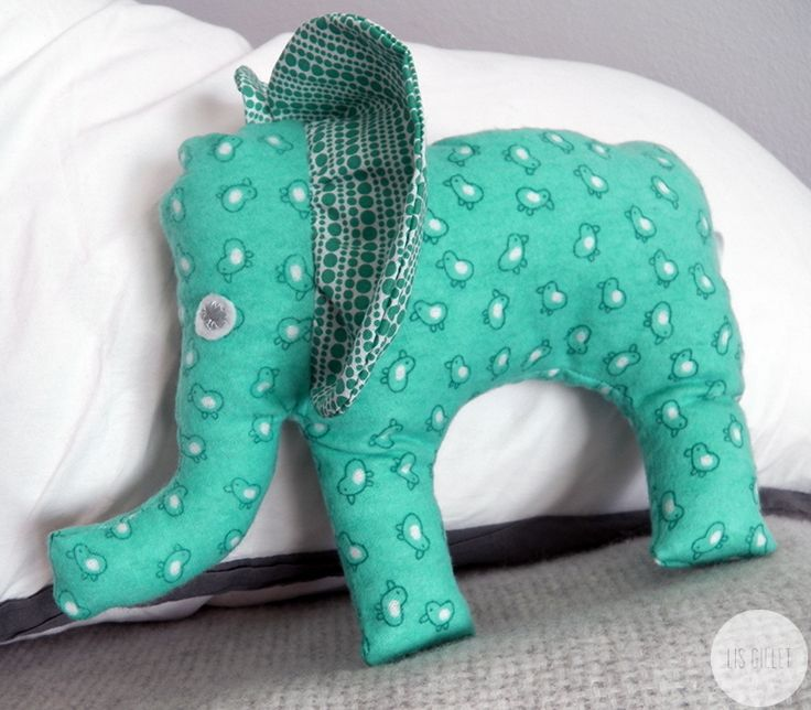 Elephant Softy for kids | Handmade by Lis Gillet