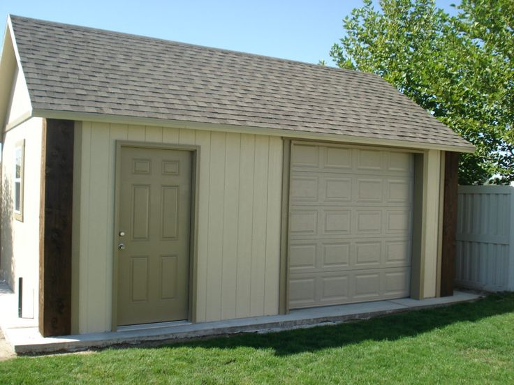 Best 25 detached garage designs ideas on pinterest for Detached garage kits