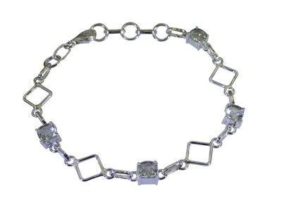 Riyo Green 925 Sterling Silver Green Amethyst Bracelet Magnificent Handmade Jewelry Websites Sbragam 28015 Bracelets