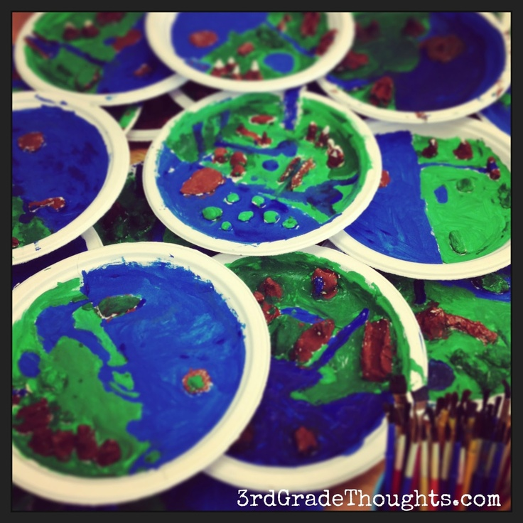 Making landforms using the 7 habits social studies for 7 habits decorations