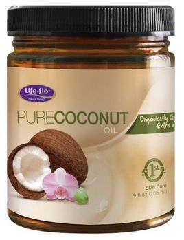 Extra virgin coconut hair nourishment oil can be used on brow line.