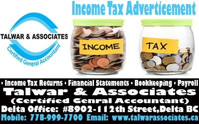 Best Accounting Services In British Columbia (Mr. Talwar has over 14 years of Experience)