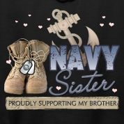 My brother's and sister are in the navy. You go Al , Travis and Danielle. I am so very proud!