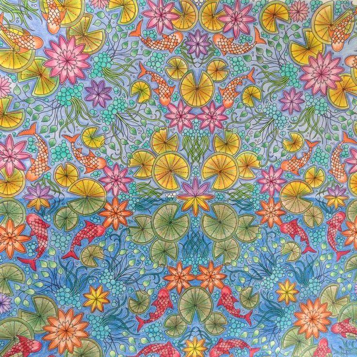 Johanna Basford Quilting Tips Secret Gardens Coloring Books Mandala Book Garden In Living Color The