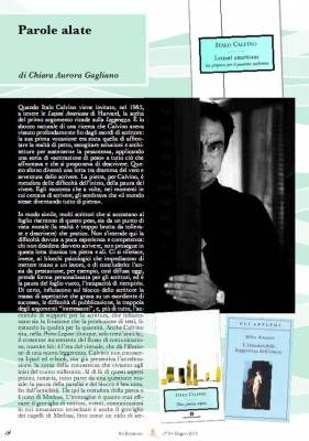 Italo Calvino, Lezioni americane, Webzine Sul Romanzo