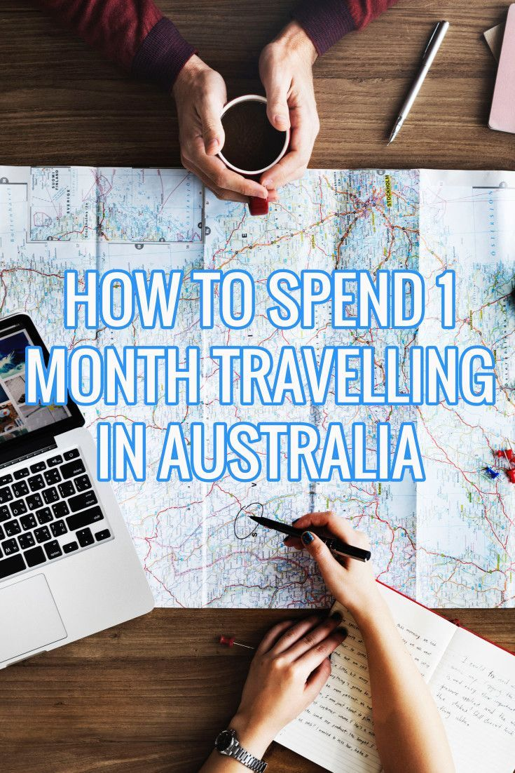 How to spend one month travelling in Australia - the ultimate sample itinerary including best destinations, things to do and travel times for tracking East Coast Australia between  Sydney and Cairns!