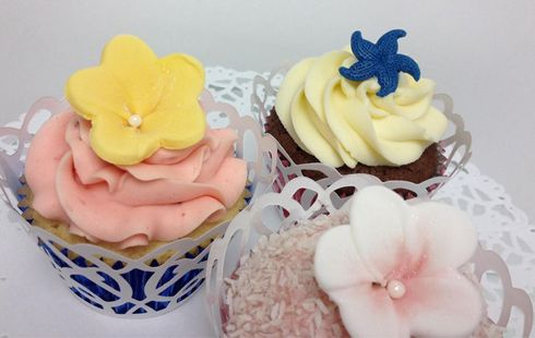 Pretty as a picture! Cupcakes from Bella's Secret at the Enterprise Shopping Centre, http://enterprise-centre.org/shop/bellas-secret