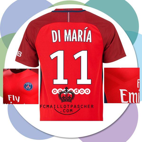 A Vendre Nouveau maillot foot PSG 2017 extérieur Di María retro