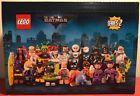 LEGO Minifigures THE LEGO BATMAN MOVIE Series 2 71020 Case of 60! Sealed Case!