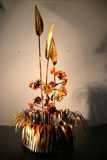 Australian Bushland metal sculpture by Marc Spurgin
