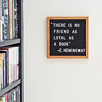 20 Letter Board Sign - Black Felt with 326 White Plastic Changeable ...