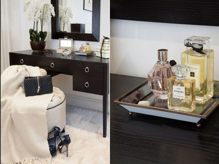 Bespoke Dressing Table with accessories   JHR Interiors