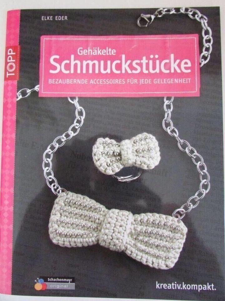 """gehäkelte Schmuckstücke-bezaubernde Accessoires Topp Buch häkeln, Optional(""""5€"""")"""