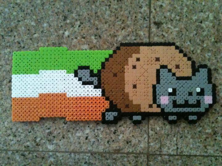 Irish Nyan cat by Birdseednerd.deviantart.com on @deviantART