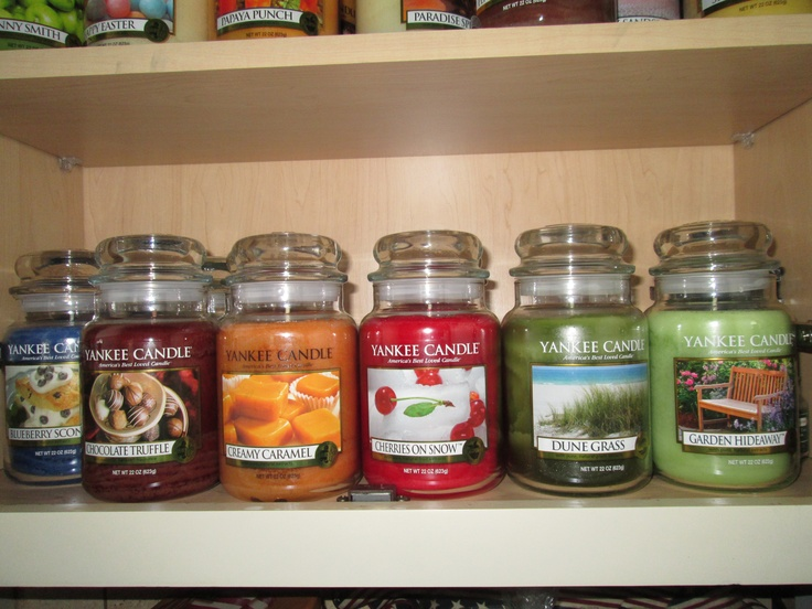42 best images about the best yankee candle scents on With kitchen cabinets lowes with yankee candle jar holders
