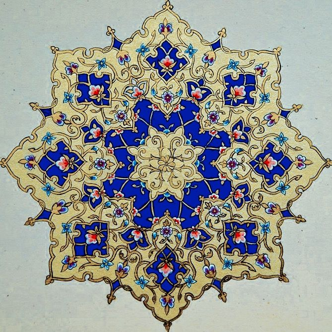 DesertRose,;,beautiful Islamic art,;,