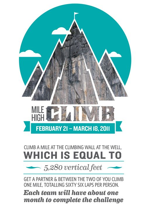 Flyerfolio » A showcase for awesome flyer designs » Mile High Climb