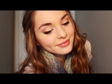 Emma Watson Inspired Makeup Tutorial! Naturally Pretty Makeup - Jackie Wyers - YouTube