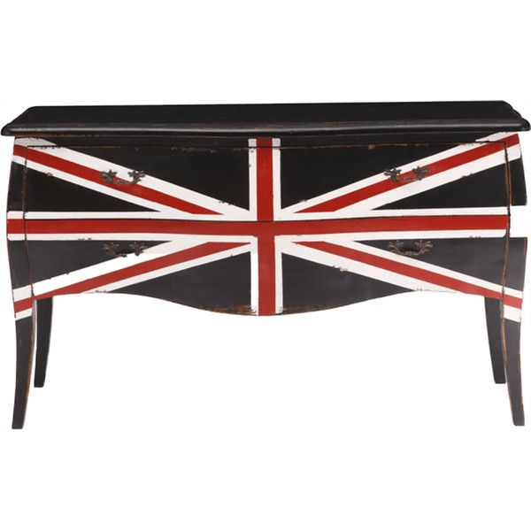 Zuo Modern Union Jack Large Cabinet ($970) ❤ liked on Polyvore featuring home, furniture, storage & shelves, cabinets, drawer cabinet, drawer furniture, drawer storage cabinet, union jack furniture and storage cabinets