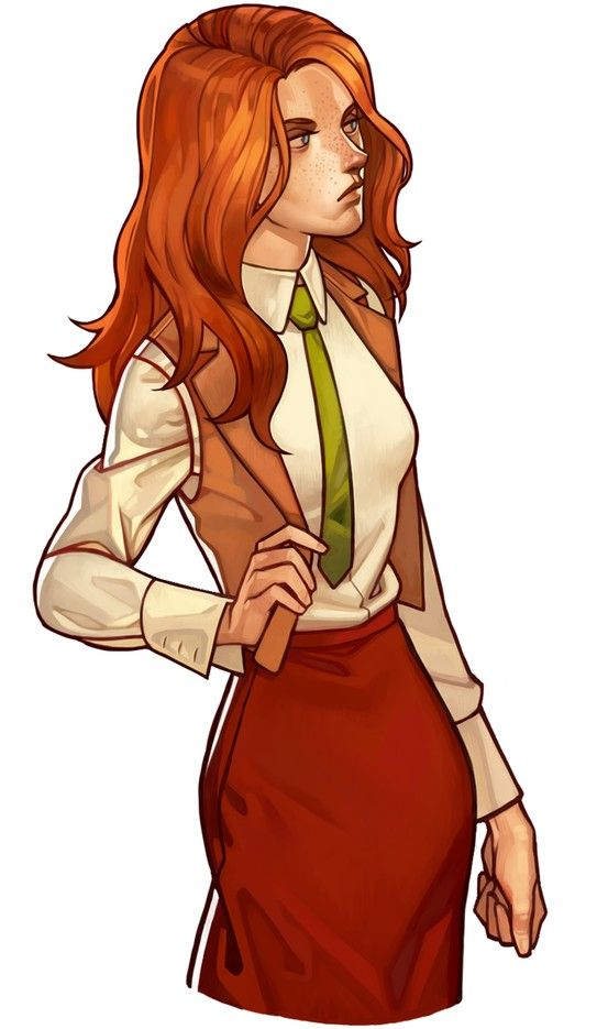 Female Characters With Red Hair 17 Best images about R...