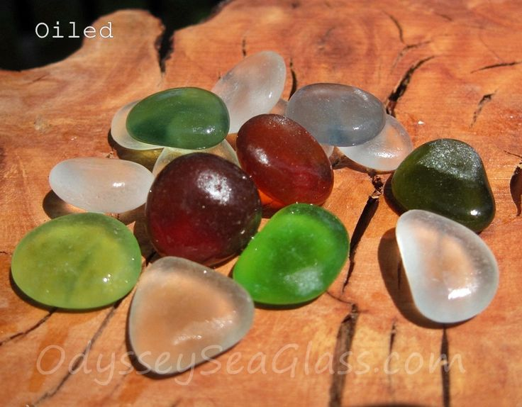 COCONUT DREAMS ~ buy real Sea Glass ~  15 pcs in Olive, Root Beer, Cinnamon, Seafoam, etc ~ from the tropical Peruvian coast HU-0037 by OdysseySeaGlass on Etsy