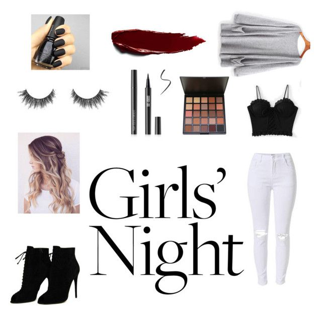 """""""girls night"""" by jasmimosa ❤ liked on Polyvore featuring Tom Ford"""