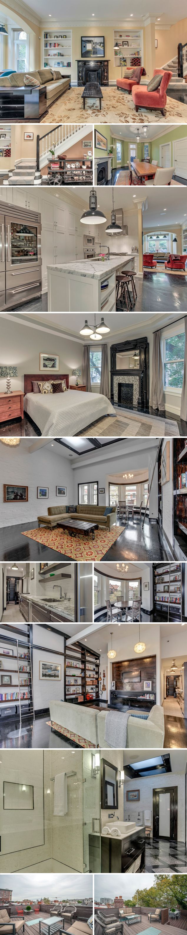 Most Expensive Homes On The Market: A $2895 Million Victorian Rowhouse In  Dupont