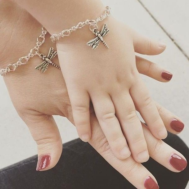 There Is Something So Sweet About Matching Mother And Daughter Charm Bracelets Jamesavery Myjamesavery In 2018 Pinterest Jewelry Baby