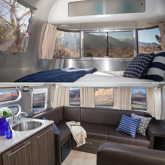Head out on the road - Airstream Campers to Rent This Summer