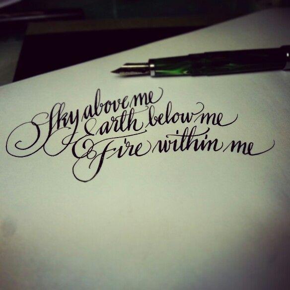 Noodler's ink and pen...