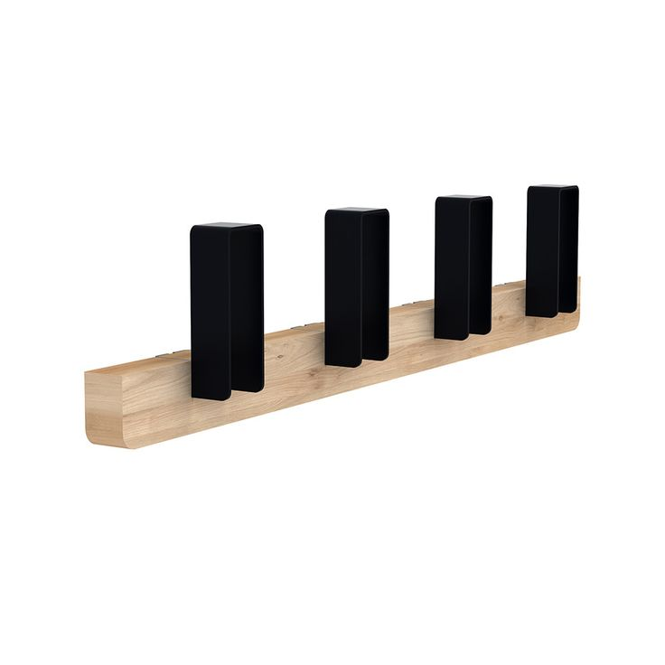 Discover the Universo Positivo Merlin Coat Rack - Black - Large at Amara